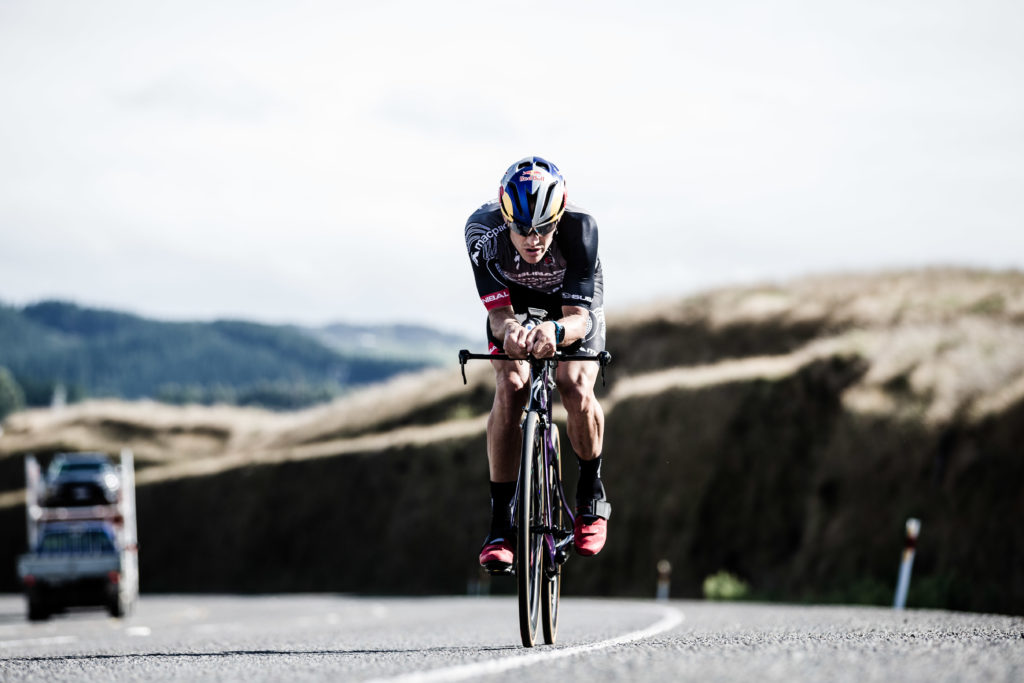 Braden Currie Racing at Ironman NZ 70.3 in Taupo New Zealand