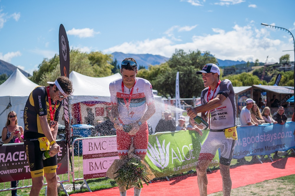 Braden Currie finishes second at Challenge Wanaka