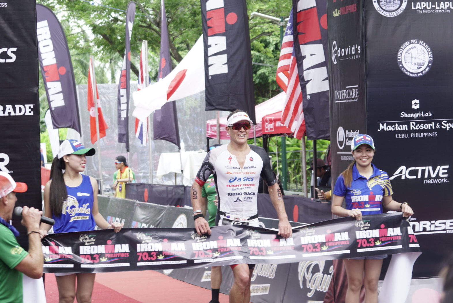 PODIUM FOR CURRIE AT IRONMAN 70.3 ASIA PACIFIC CHAMPIONSHIP