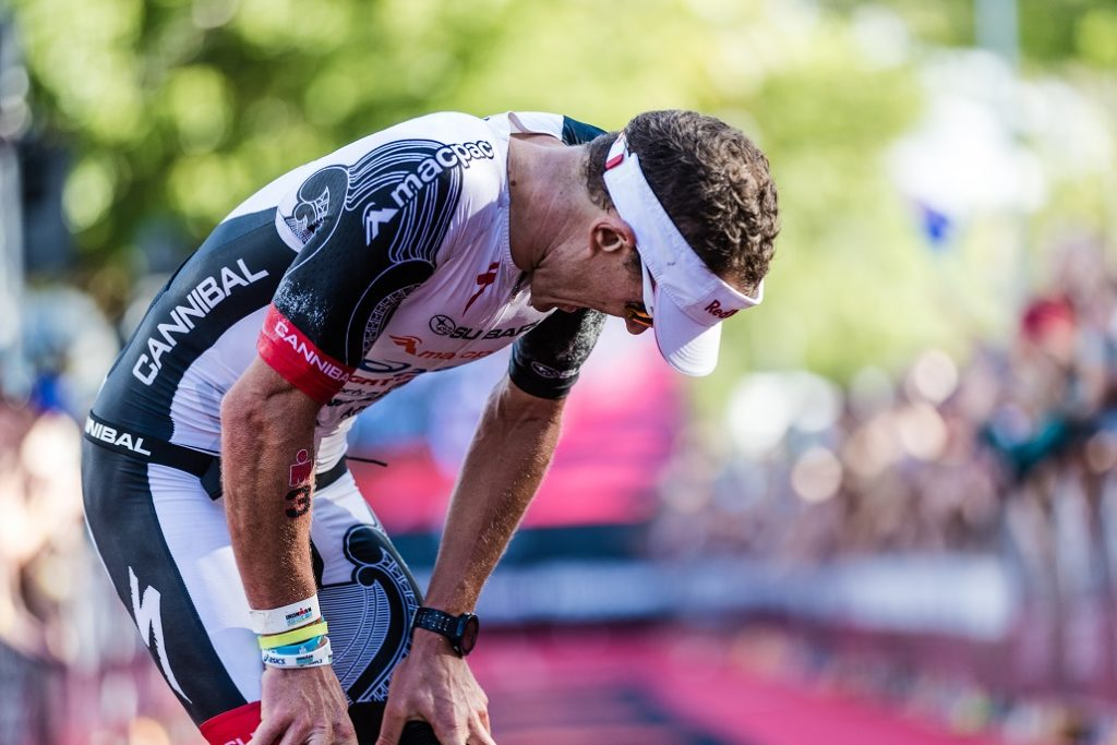 Braden Currie after winning Ironman Cairns 2018